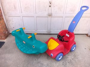 Seesaw and pushcar for Sale in Cleveland, OH
