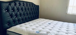 Queen bed frame and mattress new for Sale in Los Angeles, CA