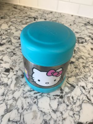 Hello Kitty small thermos for Sale in Riverside, CA