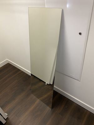 Floor Length Glass Mirror for Sale in Oakland, CA