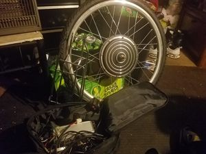 Ebike Front wheel hub conversion. Turn your bicycle into a electric motorized bicycle. Brand new never used. Will consider trades. for Sale in Grove City, OH