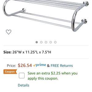 Towel Rack Shelf for Sale in Lexington, SC