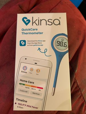 Kinsa digitalTermometer . Comes with instructions to use the Kinsa app. for Sale in McDonald, PA