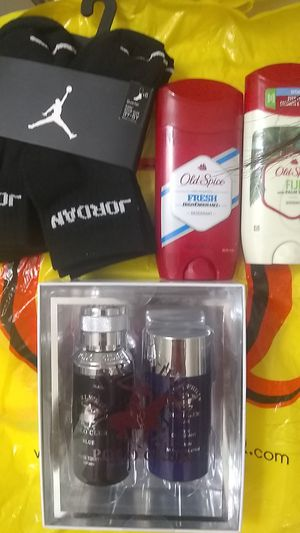 Jordans socks,polo cologne, 2 old spice deodorant for Sale in Glendale, AZ