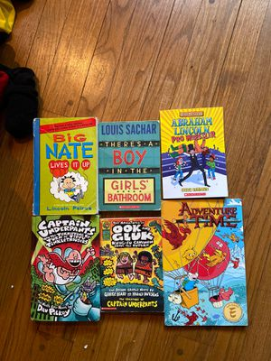 6 Chapter books, young readers for Sale in New Britain, CT