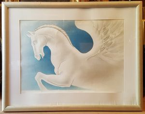 "Sublimazione di Pegaso drawing by Mariotti 34""×27"" for Sale in Queens, NY"