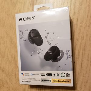 Sony WF-SP800N EXTRA BASS Wireless Noise Canceling Water Resistant Earbuds / Headphones for Sale in Phoenix, AZ