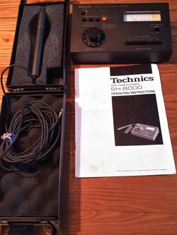 Technics Audio Frequency Analyzer SH-8000 for Sale in North Bend,  WA