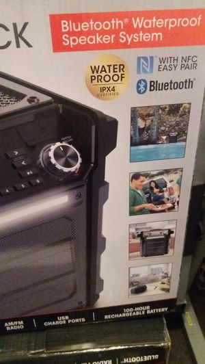 Ion Explorer Outback Bluetooth speaker new in the box for Sale in Mableton, GA