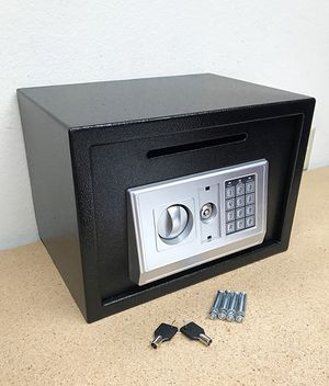 "Brand New $50 Depository 14""x10""x10"" Digital Security Safe Box Electric Keypad Lock w/ Master Key for Sale in Whittier, CA"