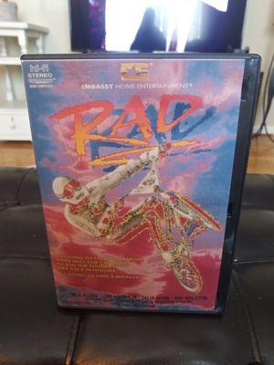 RAD movie Dvd RARE! (BMX) for Sale in Gaithersburg, MD