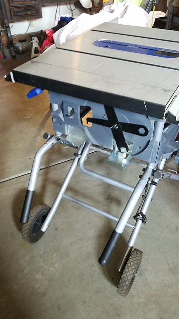 Kobalt table saw 10inch missing saw fence kt1015 lake new for Sale in San  Jacinto, CA - OfferUp