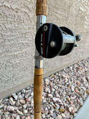 Vintage Trolling Rod and Reel for Sale in Buckeye, AZ