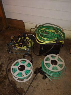 Garden hoses, sprinklers, nozzles, etc. for Sale in Rockville,  MD