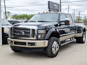 2009 Ford F450 Super Duty DRW Crew Cab King Ranch FX4 for Sale in Grand Prairie, TX