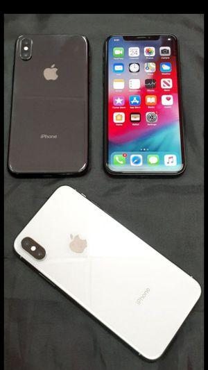 Factory Unlocked iPhone X/ XS/ XS Max TMobile At&t Metro Cricket Straight talk Verizon etc for Sale in Arlington, TX