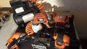 Air compressor air sprayer grinder hammer drill skill saw sander for Sale in Auburndale, FL