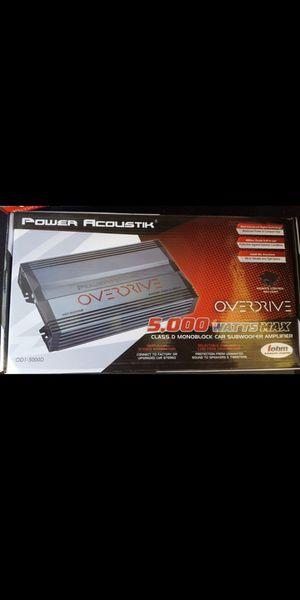 NEW!!! Power Acoustik 5000w 1ch amplifier for Sale in Phoenix, AZ