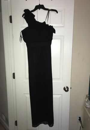 One Shoulder Black Prom Dress for Sale in Fuquay-Varina, NC
