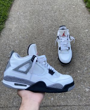 "Air Jordan 4 Retro ""White Cement."" Size 9 for Sale in Staten Island, NY"