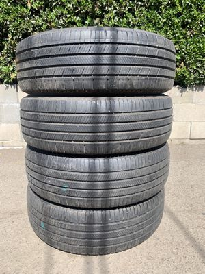 225 65 17 Used Set of Michelin Tires Honda Dodge Charger Challenger Magnum Chrysler 300 Toyota Tacoma Dodge Dakota Ford Ranger Chevy Colorado Toyota for Sale in Chino Hills, CA