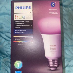 Phillips Hue Light Bulb 💡 for Sale in Redlands, CA