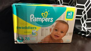Pampers size 3 for Sale in Bartow, FL