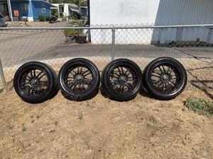 18 inch rims 5x114.3 and 5x100 for Sale in El Cajon, CA