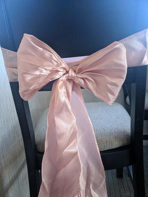 Chair tie light pink for Sale in New Braunfels, TX