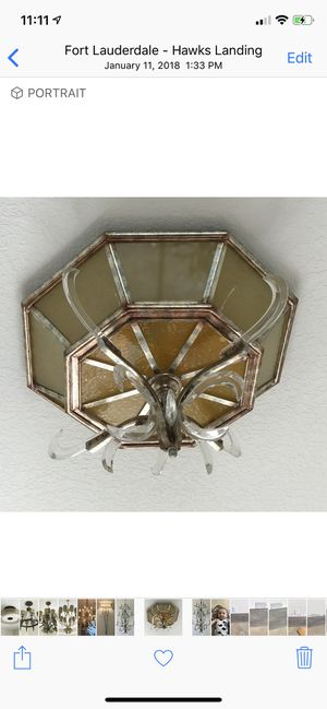 Fine Art Lamps Light Fixture - Retail is $3500 for Sale in Fort Lauderdale, FL