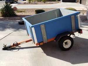 Trailer with Extra Tire and 2 Hitches for Sale in Gilbert, AZ