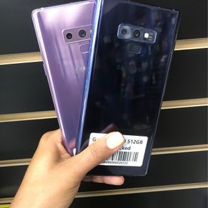 Galaxy Note 9 (128GB, 512GB) | Unlocked 🔓| 30 Days warranty✅ | All colors Available❗️| for Sale in Tampa, FL