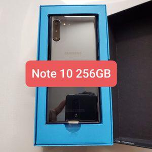 Samsung Galaxy NOTE 10 Aura Black 256GB (Unlocked) for Sale in Palm Shores, FL