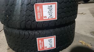 02 matching Goodyear tires for sale 245/75/16 for Sale in Washington, DC