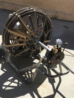 Gorlitz Go 68 11/16x150 Ft Heavy Duty Drain Cleaning Machine In Excellent Working Condition for Sale in Banning,  CA
