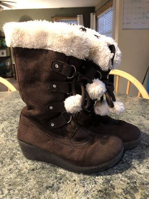 Girls Size 2 Brown Suede Boots for Sale in Hanover, PA