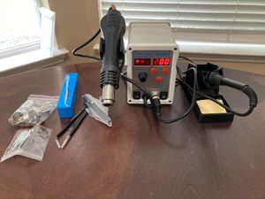 Brand new in box soldering station with heat gun for Sale in Flower Mound, TX