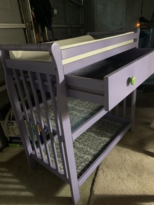 Baby changing table for Sale in Canton, GA