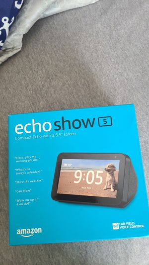 Echo show 5 for Sale in Belmont, NC