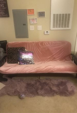 Futon with metal frame for Sale in Mebane, NC