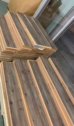 VINLY GLUE DOWN FLOORING LUXURY WATER PROOF (35 square feet a box) S32S for Sale in Austin,  TX
