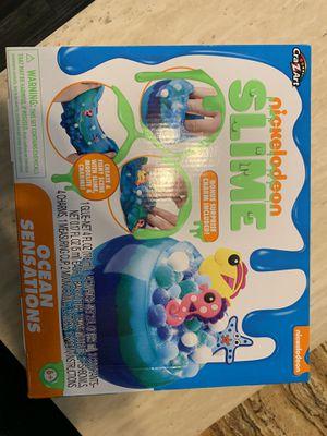 Nickelodeon slime kit for Sale in Dallas, TX