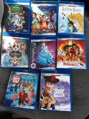Disney Blu-Ray & Variety of 4k Ultra Blu-Ray Movies Brand New for Sale in Bremerton, WA