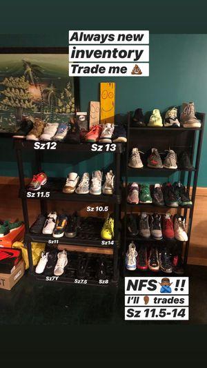 Sz 7y-14 Kicks Yeezys Jordan's OffWhite Foams Nike Adidas Bape Supreme Kaws Hype Stuff for Sale in Manassas, VA
