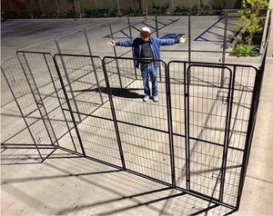 New in box 72 inch or 6 feet tall x 32 inches wide each panel x 16 panels exercise playpen fence safety gate dog cage crate kennel for Sale in La Mirada, CA