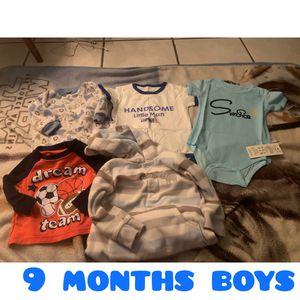 9 months boy bundle for Sale in Fresno, CA