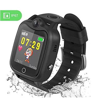Kids Smart Watch, Smartwatch for Kids with LBS Tracker Voice Chat Camera SOS Alarm Clock Games, Kids Waterproof Smart Watch, Touch Screen Kids Phone for Sale in Upland, CA