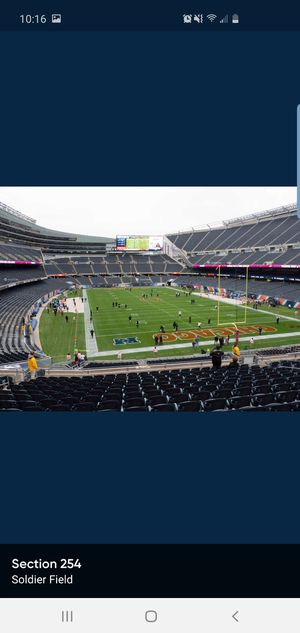 2 Tix Chicago Bears vs. NY Giants 11/24/19 for Sale in Chicago, IL