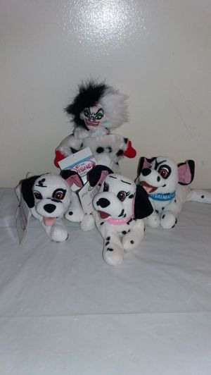 New with Tags Disney 101 Dalmations complete set for Sale in Downers Grove, IL