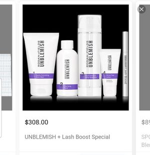 Rodan fields Unblemish & lash booster for Sale in Denver, CO